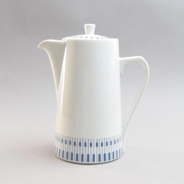 Kaffekande. 1 liter. Tangent. Porcelænsfabrikken Danmark, Lyngby
