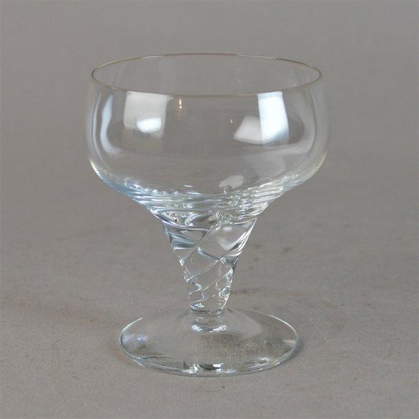 Likør. 7,2 cm. Twist / Amager glas. Holmegaard Glasværk.