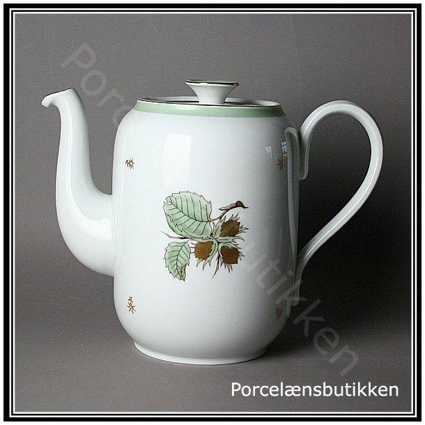 Kaffekande. nr. 91A. 1,5 Liter. Hasselnød fra Bing & Grøndahl.