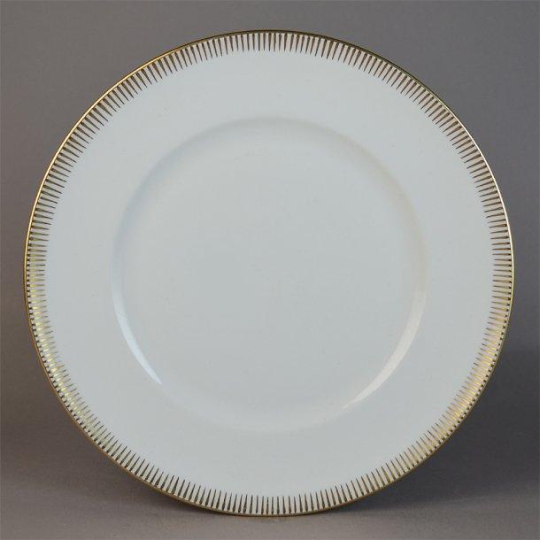 Flad tallerken. nr. 26. 21 cm. Luna. Bing & Grøndahl.