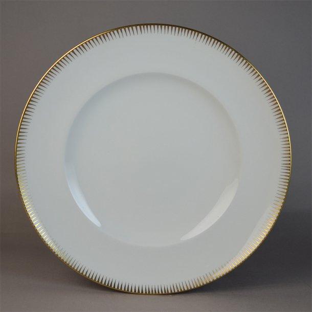 Flad tallerken. nr. 25. 24 cm. Luna. Bing & Grøndahl.