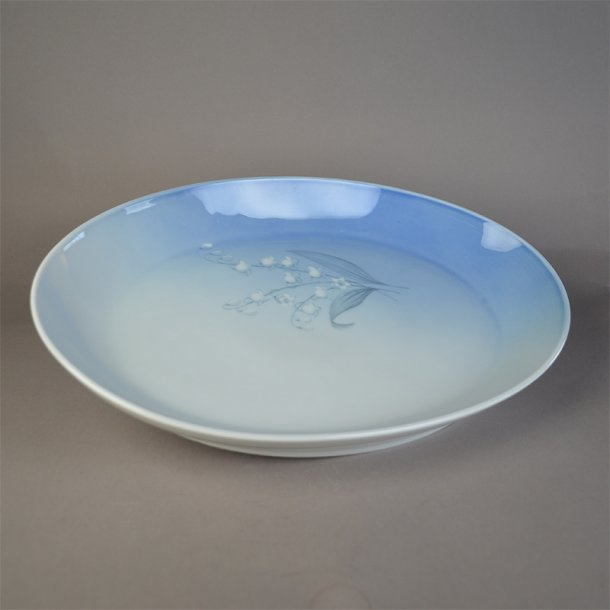 Fad, ovalt. nr. 316. 33,5 cm. Convalla. Bing & Grøndahl.