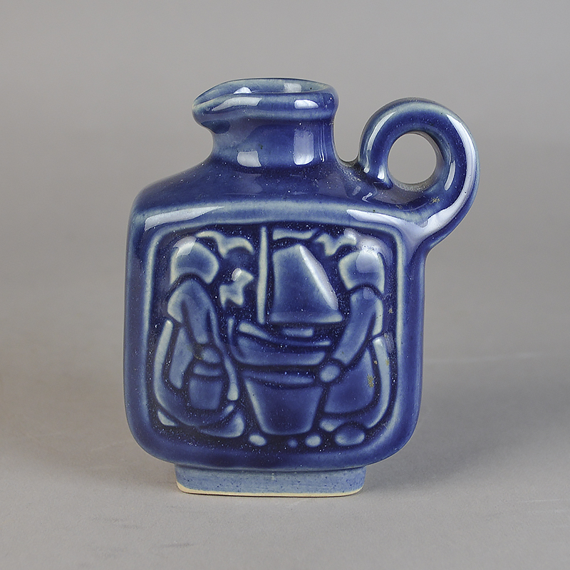 keramik michael andersen Mini Kande. Fiskekoner. 9,5 cm. Michael Andersen Keramik  keramik michael andersen