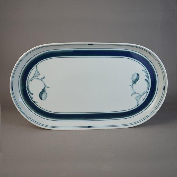 Fad, ovalt. nr. 316. 33 cm. Korinth. Bing & Grøndahl.