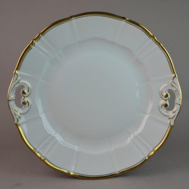 Kagefad. nr. 101. 26 cm. Offenbach med guld.