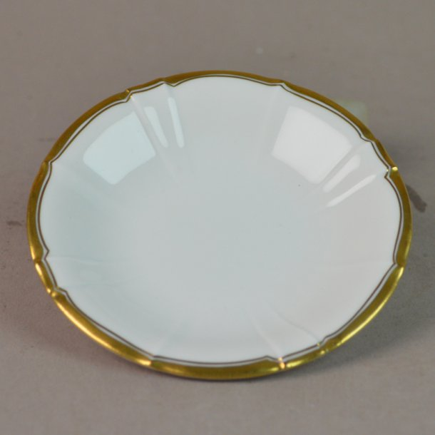 Smørkop. nr. 30. 9,5 cm. Offenbach med guld.