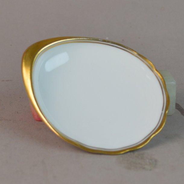 Smørkop. nr. 200. 8,5 cm. Offenbach med guld.