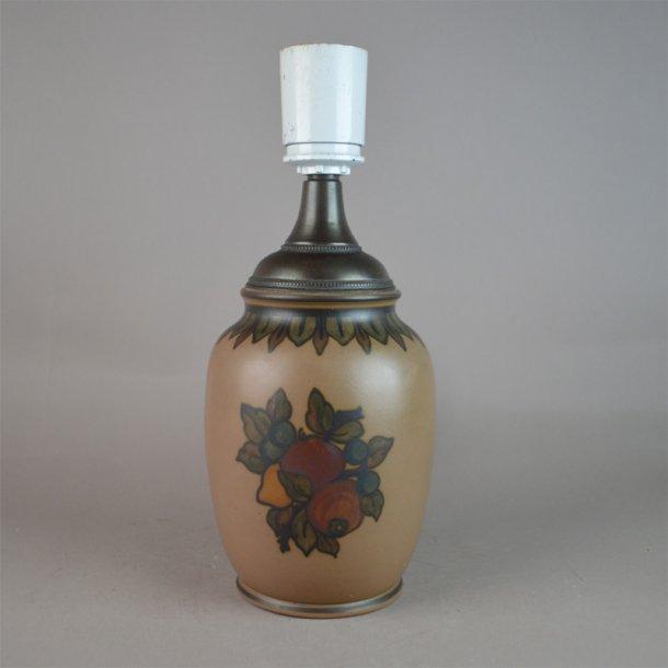 Bordlampe. 25,5 cm. Hjorth Keramik.