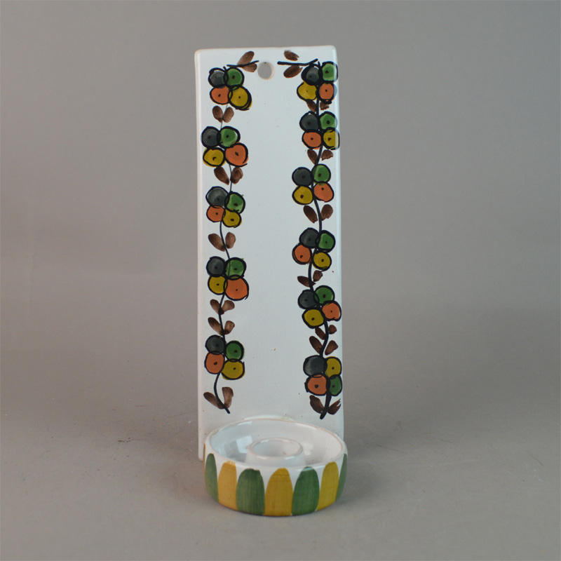 bangholm keramik Lysestege til væg. 21,5 cm. Bangholm Keramik. bangholm keramik