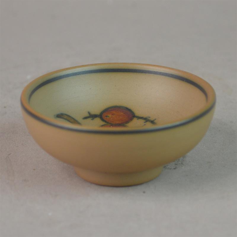 hjorth keramik Saltkar, rund. 6 cm. Hjorth Keramik. hjorth keramik