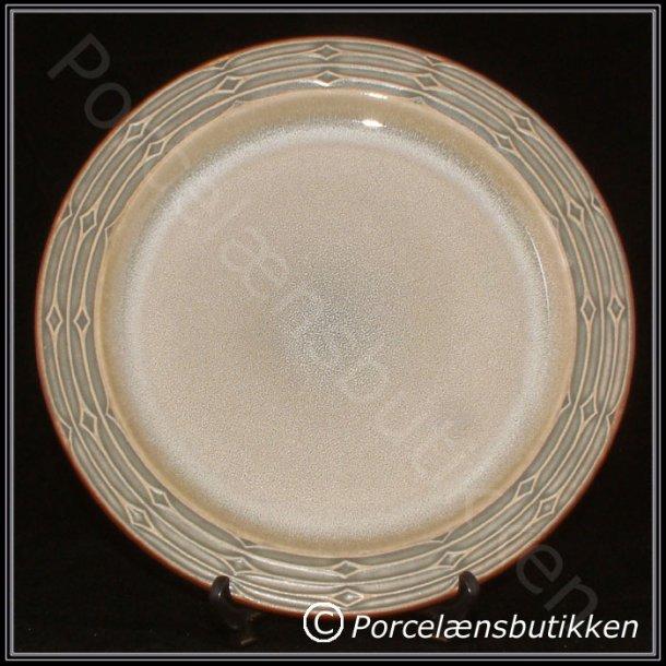 Flad tallerken. nr. 624. 26 cm. Rune. Bing & Grøndahl.