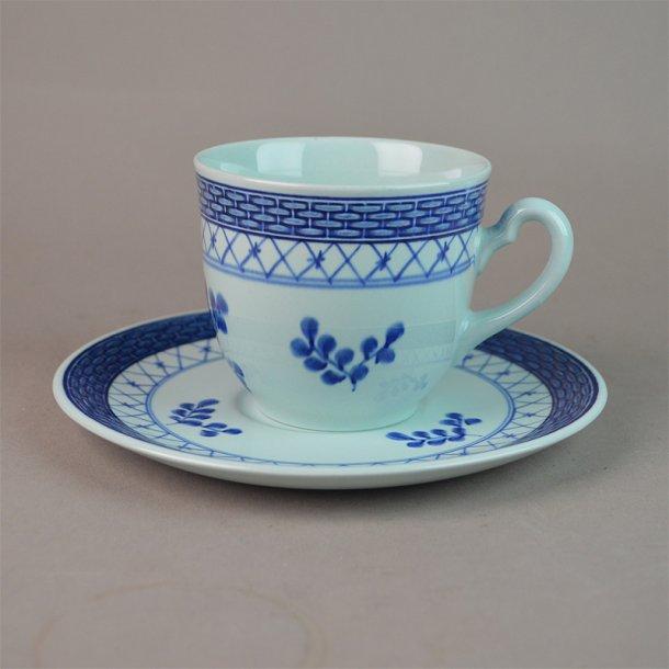 Kaffekop, nr. 956. 1,8 dl. Blå Tranquebar.
