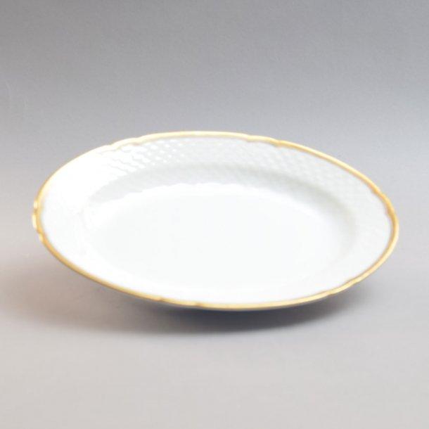 Fad, ovalt. nr. 18. 24 cm. Hartmann. Bing & Grøndahl.