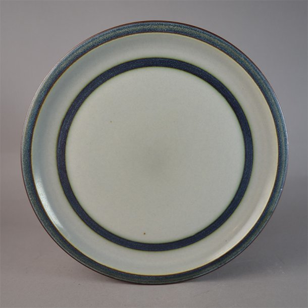 Flad tallerken. nr. 325. 24 cm. Tema. Bing & Grøndahl.