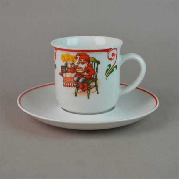 Kaffekop. 1,5 dl. Nissejul fra Firkløver.