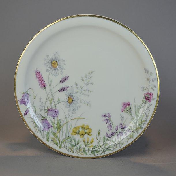 Kagetallerken. 15,5 cm. Danmarks Flore fra Bavaria.