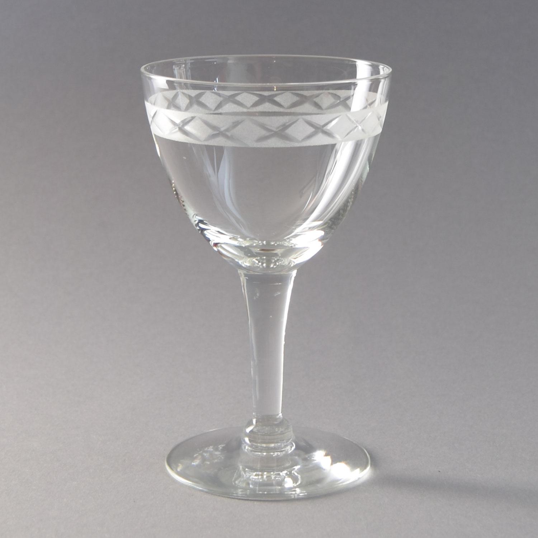 Rørig Rødvin. Ejby glas. 13 cm. Holmegaard Glasværk. - Ejby - Holmegaard ZQ-36