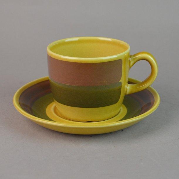 Kaffekop. 1,25 dl. Honey stel. Stavangerflint.