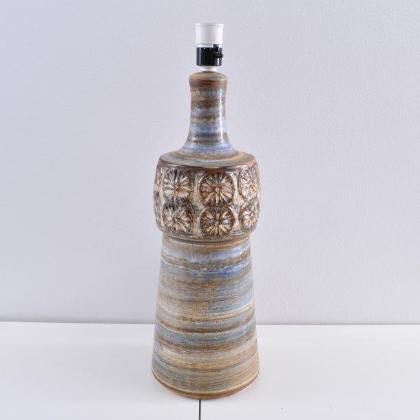 Bordlampe. nr. 3080. 54 cm. Søholm Keramik.