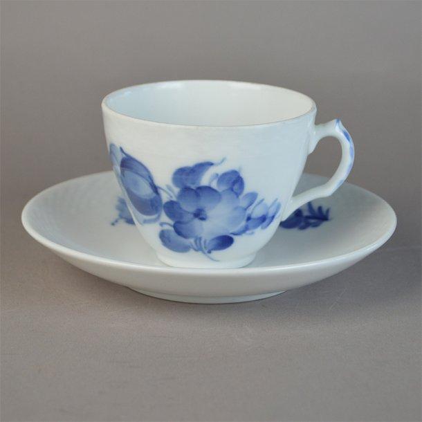 Kaffekop. nr. 8261. 15 cl. Blå Blomst, flettet.
