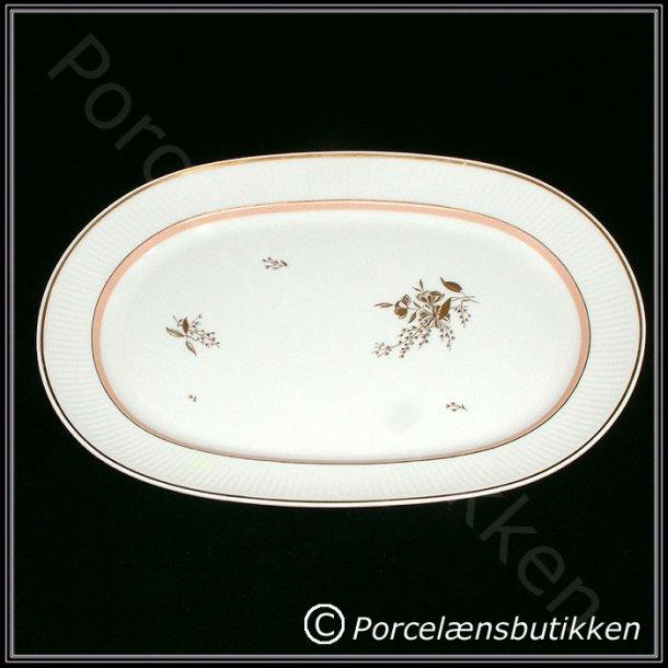 Fad. ovalt. nr. 14057. 38 cm. Clarissa. Royal Copenhagen.