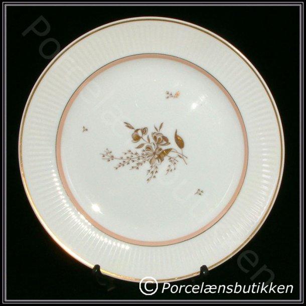 Flad tallerken. nr. 14061. 23 cm. Clarissa. Royal Copenhagen.