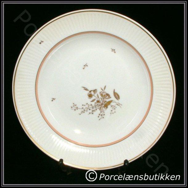 Dyb tallerken. nr. 14062. 23 cm. Clarissa. Royal Copenhagen.
