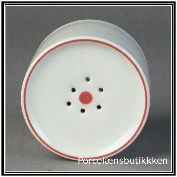 Peberbøsse. nr. 3055. Rødtop fra Royal Copenhagen.