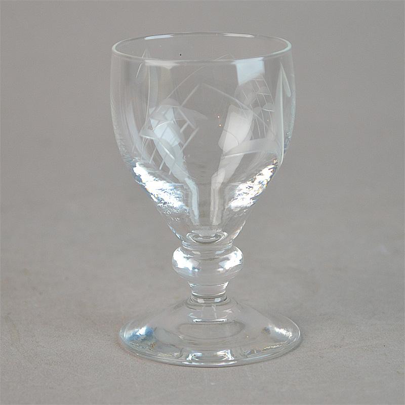 Velsete Port / sherry. 8 cm. Bygholm glas. Holmegaard Glasværk. - Bygholm ZY-61