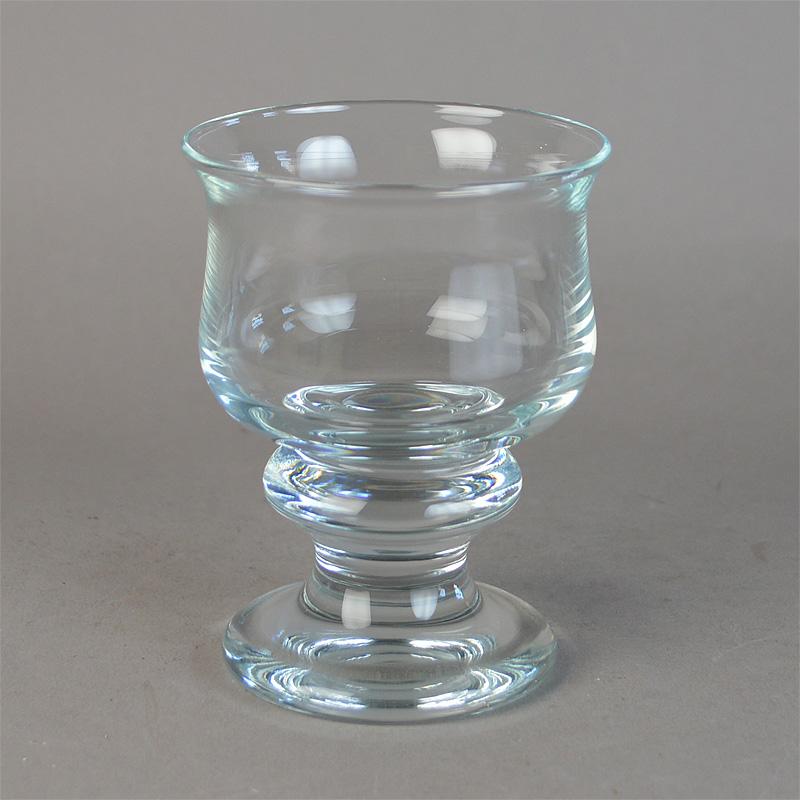 Splinternye Hvidvin. 10 cm. Tivoli glas fra Holmegaard Glasværk. - Tivoli Glas TR-62