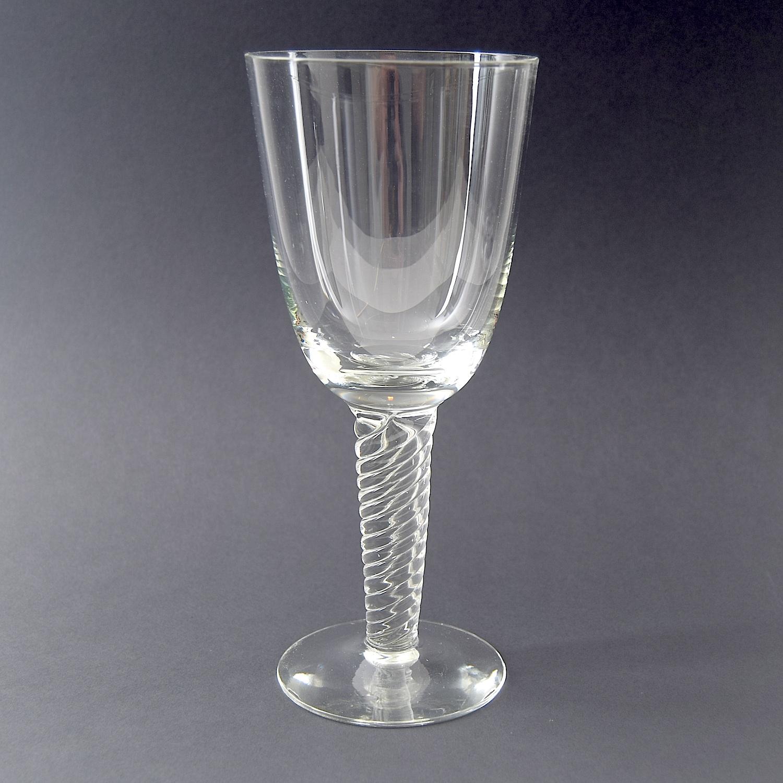 Pokal. 22 cm. Twist / Amager glas. Holmegaard Glasværk. - Amager / Twist - Kastrup & Holmegaard ...