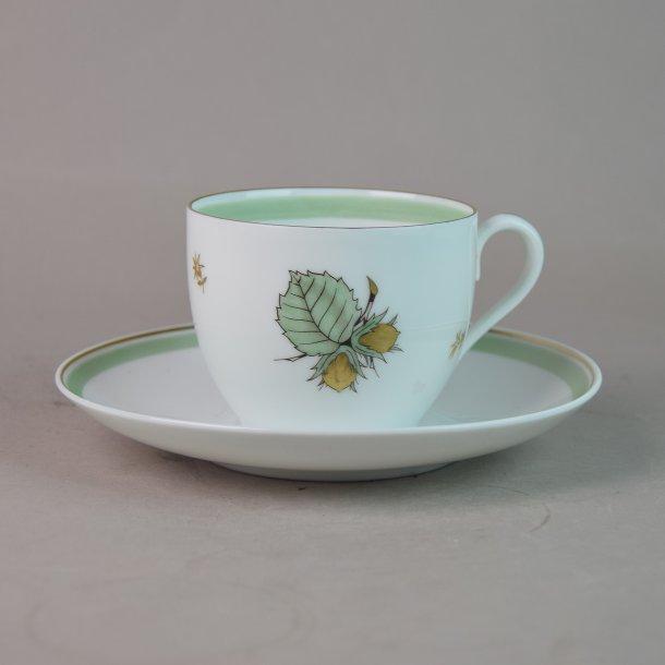 Kaffekop. nr. 102. 1,2 dl. Hasselnød. Bing & Grøndahl.