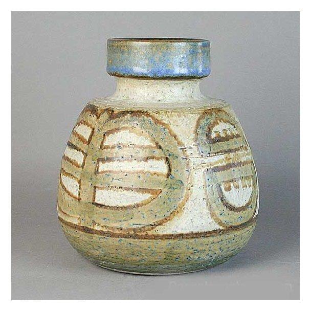 søholm keramik Vase. nr. 3232 1. 13 cm. Erika Serien. Søholm Keramik. søholm keramik