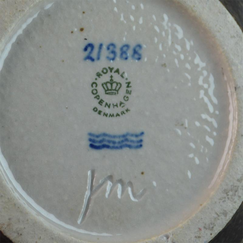 21388. 25,5 cm. Royal Copenhagen.