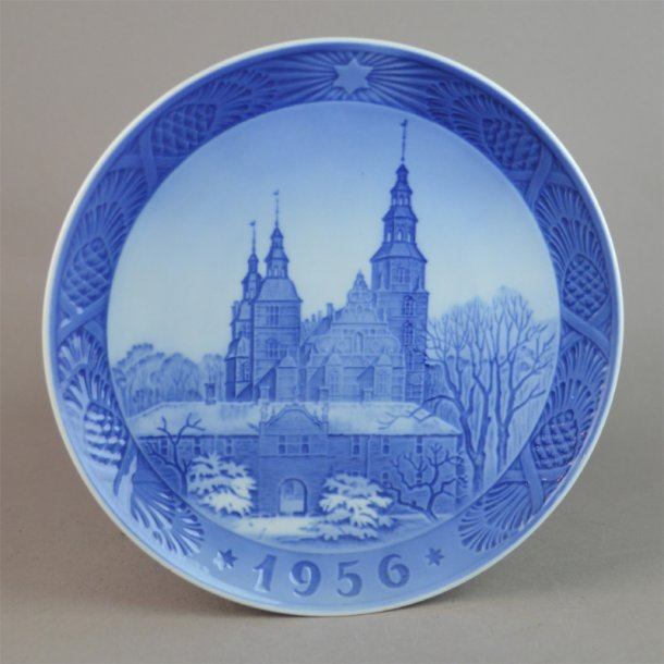 Juleplatte 1956. 18 cm. Royal Copenhagen.
