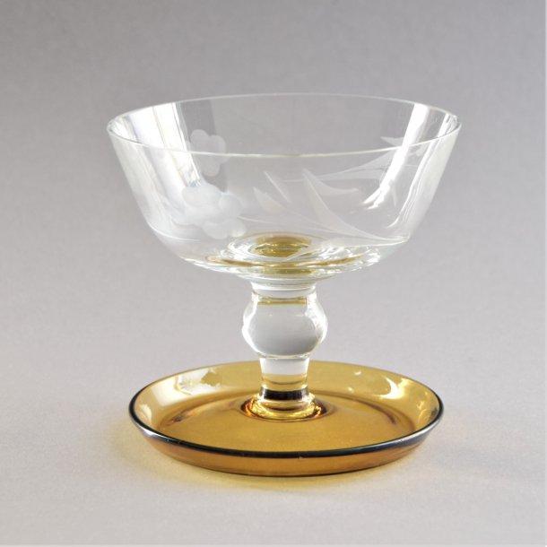 Isglas. Lis. 15 cl. Kastrup Glasværk.