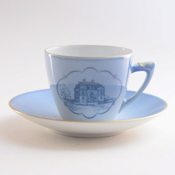 Kaffekop. nr. 305. 1,25 dl. Eremitagen. Slotsstellet. Bing & Grøndahl.