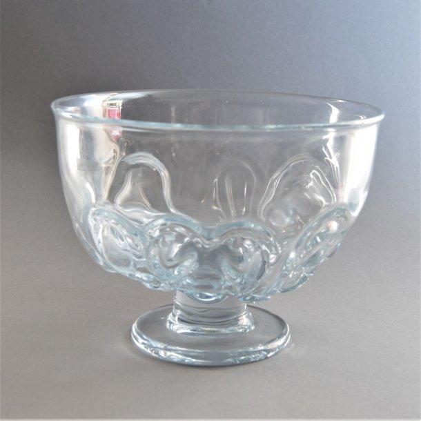 Banquet skål, mellem. 15,5 cm. Holmegaard Glasværk.