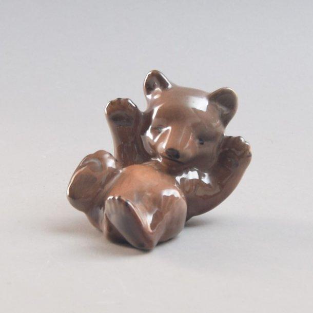 Bjørn. 9 cm. Søholm Keramik.