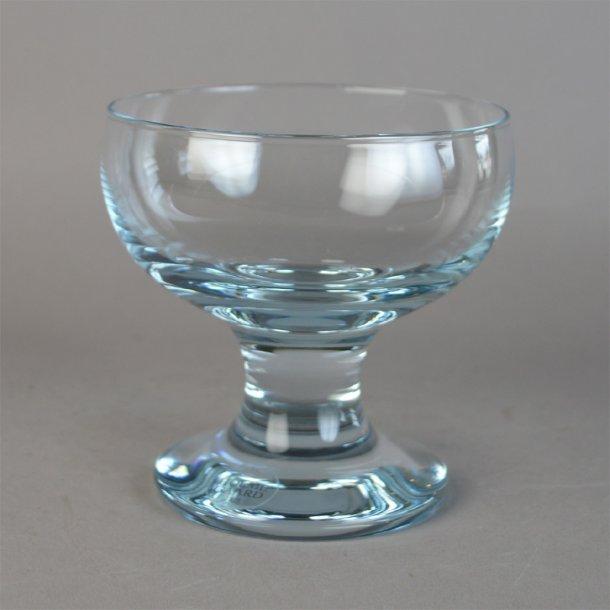 Isglas. Kroglas. 10,5 cm fra Holmegaard Glasværk.
