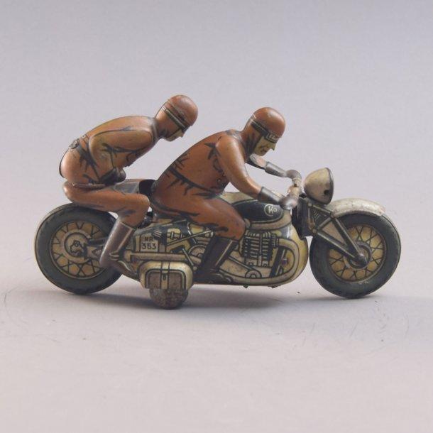 Antik sjælden gammel Tysk CKO Kellermann 353  Motorcykel.
