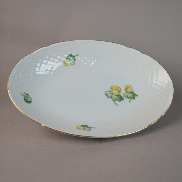 Asiet, oval. nr. 39. 22,5 cm. Erantis. Bing og Grøndahl.