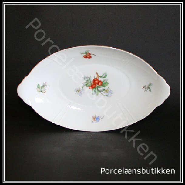 Asiet, oval. nr. 39. 26,5 cm. Rio. Bing og Grøndahl.
