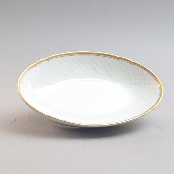 Asiet, oval. nr. 38. 18 cm. Hartmann. Bing og Grøndahl.