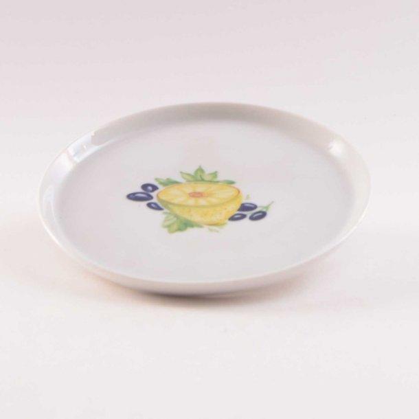 Asiet, rund. 13 cm. Picnic. Porcelænsfabrikken Danmark, Lyngby