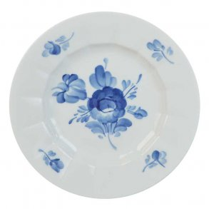 Blå Blomst, kantet - Royal Copenhagen